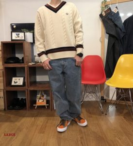 FRED PERRY TILDEN SWEATER(郡山店)
